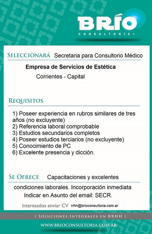 SecretariaParaConsultorioMedico